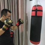 bao cát boxing 1m2 2 lớp phù hợp để luyện tập