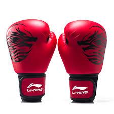 găng tay boxing li-ning đỏ cao cấp 2